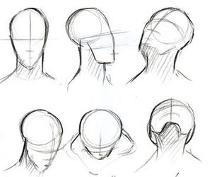 drawing, head, and how to image