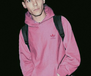 louis tomlinson, one direction, and pink image