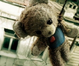 suicide, bear, and teddy image