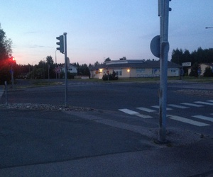 empty, finland, and quiet image