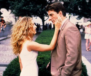 sex and the city, carrie, and Mr Big image