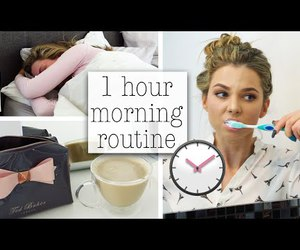 routine, video, and morning routine image