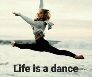 beach, dance, and life image
