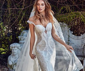 wedding dress, wedding, and galia lahav image