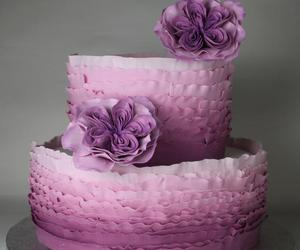 cake and purple cake image