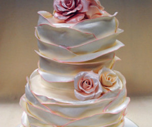 birthday cake, cute cake, and flowers cake image