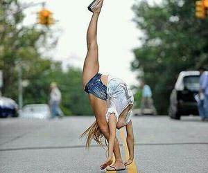 dance, flexible, and ballet image
