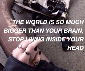 quote, grunge, and world image