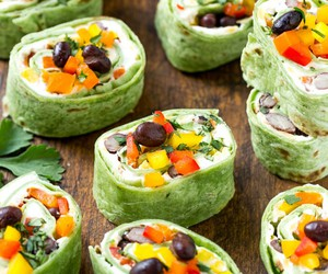 food and tortilla image