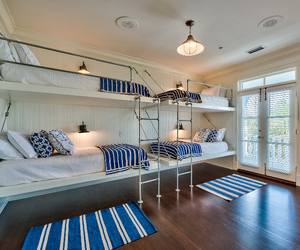 bed, room, and decor image