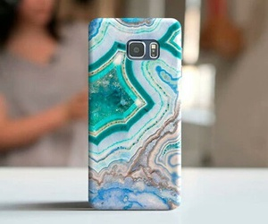 case, etsy, and marble image
