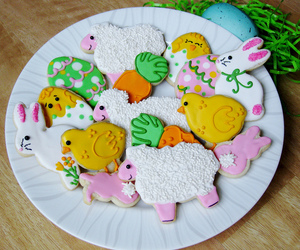 Cookies, easter, and easter cookies image