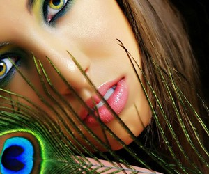 makeup, model, and photography image