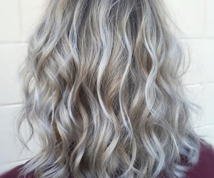 blond, blonde, and curled image