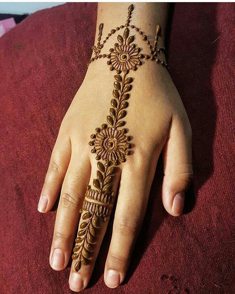 henna, designs, and mehndi image
