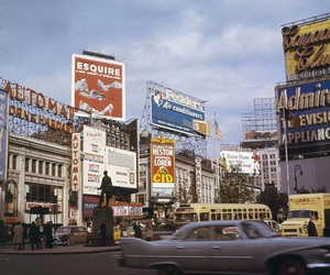 vintage, city, and grunge image