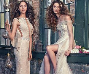 wedding, wedding dress, and galia lahav image
