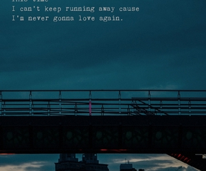 Darkness, never, and running away image