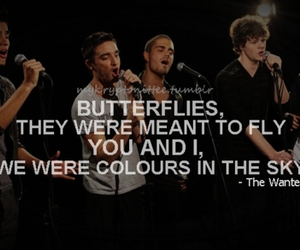 quote, the wanted, and gold forever image