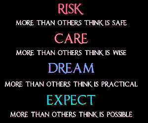 care, expect, and risk image