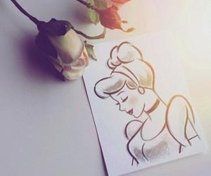 cinderella, disney, and art image