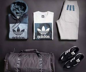 clothes, adidas, and fashion image