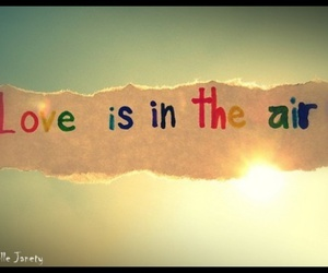 love, air, and quote image