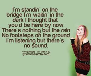 Avril Lavigne, song, and Lyrics image