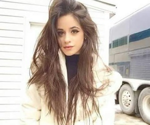 camila cabello, fifth harmony, and hair image