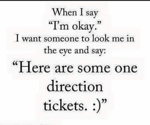 one direction and tickets image