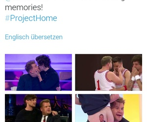 amazing, james corden, and one direction image