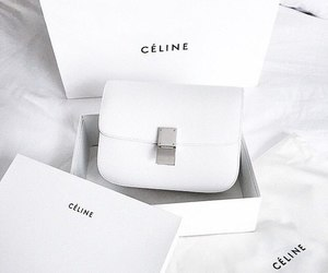 white, celine, and fashion image