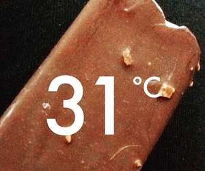chocolate, summer, and hotday image