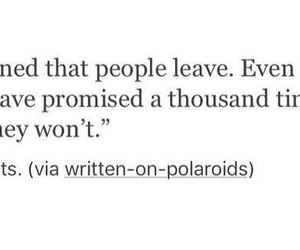 promise, hurt, and leave image