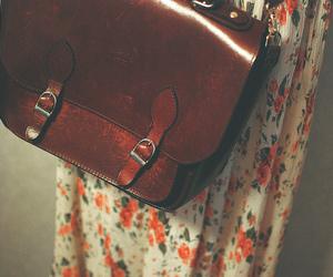 vintage, bag, and dress image