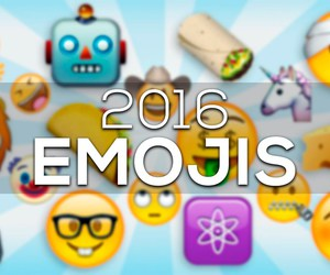 2016, whatsapp, and emojis image