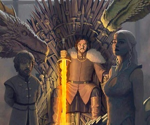 dragon, stark, and got image