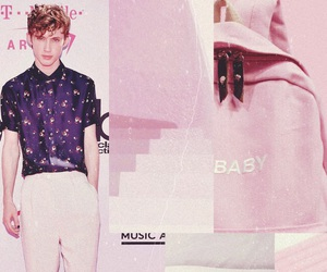 baby pink, pastel, and pink image