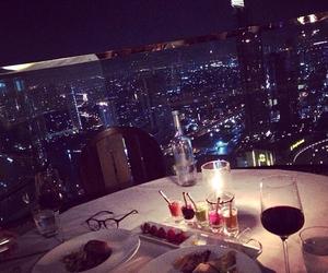 luxury, night, and dinner image
