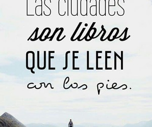 Ciudades, frases, and libros image