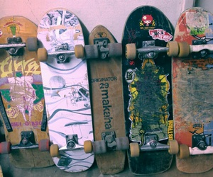 decks, skateboards, and retro boards image