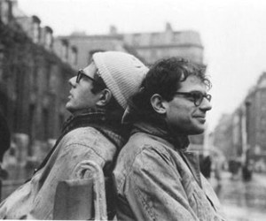 Allen Ginsberg and peter orlovsky image
