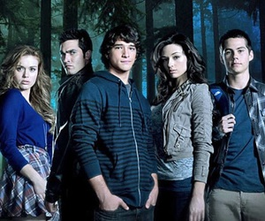 teen wolf, scott mccall, and crystal reed image
