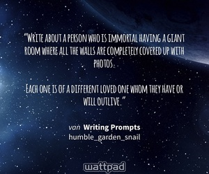 writing prompt, dialogue prompt, and writing m image