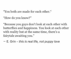 meant to be, true love, and relationships image