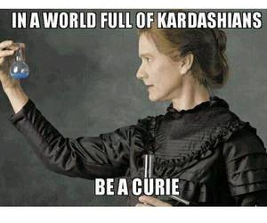knowledge, power, and marie curie image