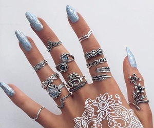 acessories, nail, and ring image