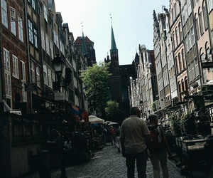 beautiful, gdansk, and buildings image