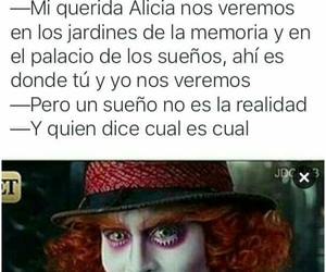 alice in wonderland, alicia, and frases image