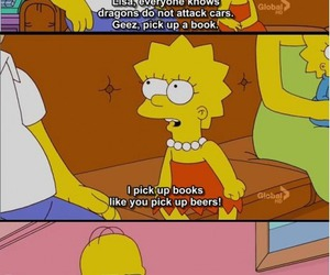 book, funny, and homer image